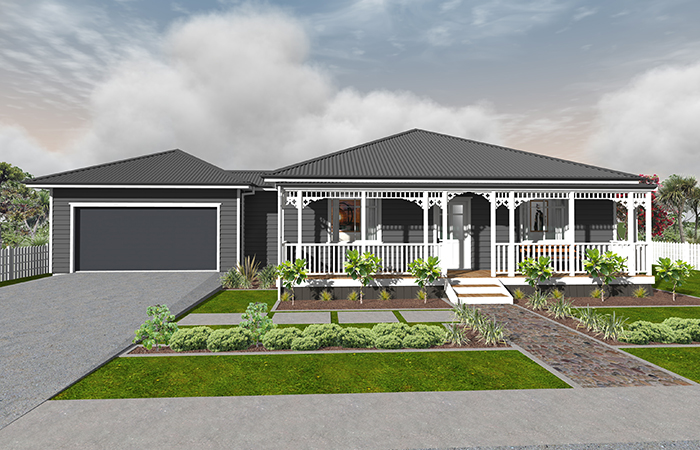 heritage buildings house render